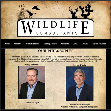 Wildlife Management Consultants